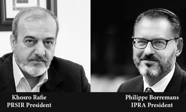قدردانی IPRA از اقدامات ارزشیابی صلاحیت حرفه ای انجمن روابط عمومی ایران